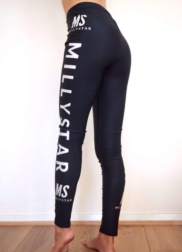 Millystar Original Leggings Black White